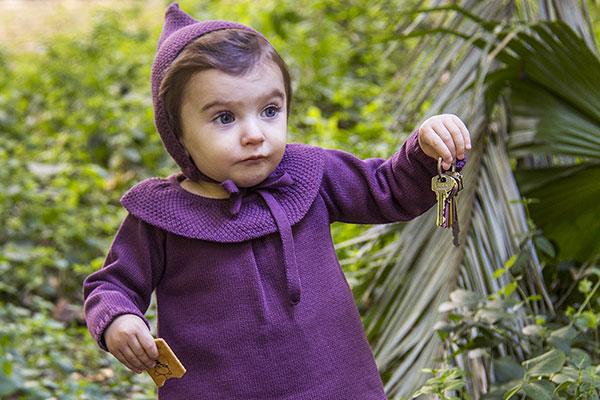 bebe berenjena moda infantil
