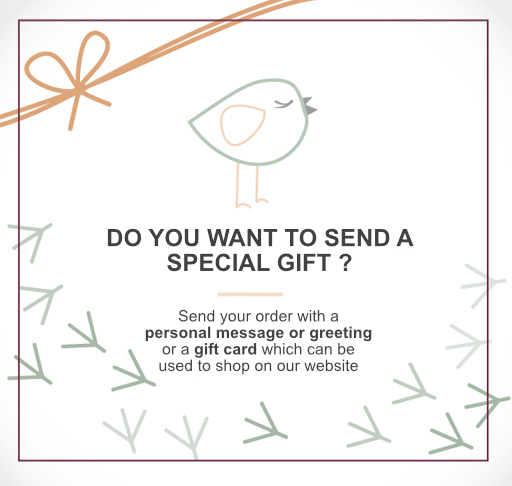 DO YOU WANT TO SEND A SPECIAL GIFT