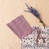 gorro hilo violeta bebe
