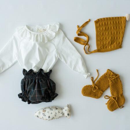 outfit culotte gris marengo