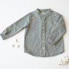 Camisa niño cuadros grises