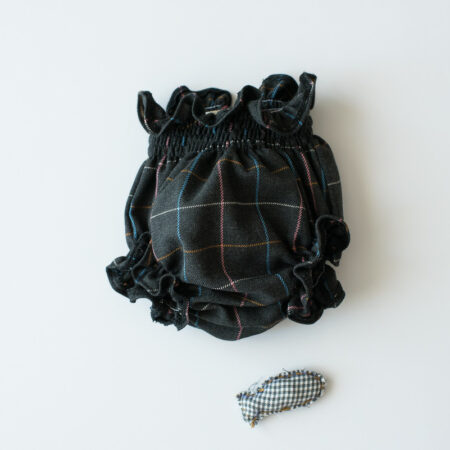 Culotte gris marengo de cuadritos