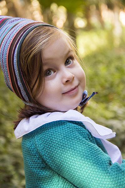 niña rebeca verde comprar ropa infantil