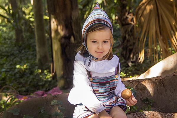 pelele gnomita moda infantil